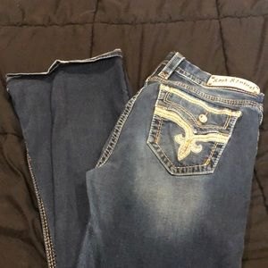 """Betty"" rock revival jeans"